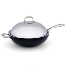 Сковорода с крышкой Indokor 36 см wok