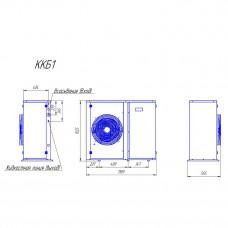 Компрессорно-конденсаторный блок Intercold ККБ1-TAG2525