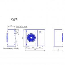 Компрессорно-конденсаторный блок Intercold ККБ1-TAG4546